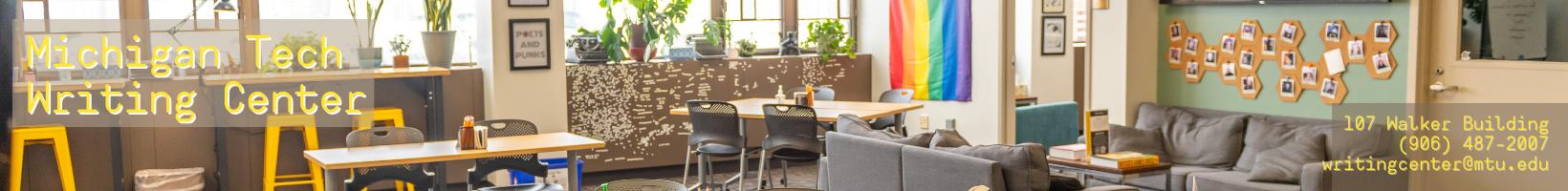 The Michigan Tech Writing Center Logo